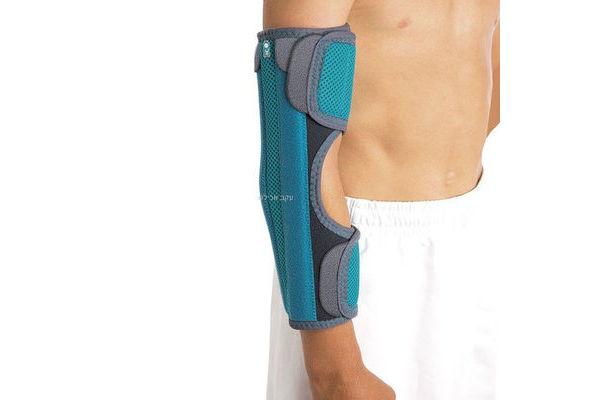 מקבע מרפק לילדים למניעת כיפוף לאחר פציעה או ניתוח - ELBOW IMMOBILISER