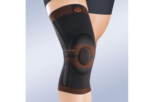 תומך ברך עם טבעת סיליקון רודיסיל 9104 Rodisil Closed Patella Knee Brace
