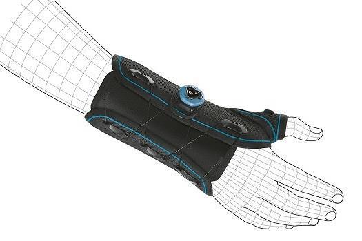 מייצב שורש כף יד ואגודל עם מערכת הידוק BOA