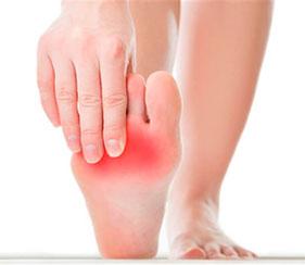 כאבים בכף הרגל והקרסול